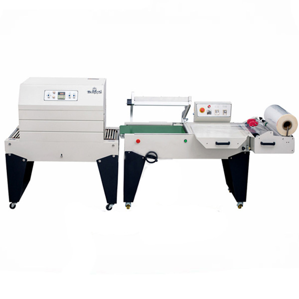 DFQC450 Pneumatic L Sealer And BS-A450 Shrink Tunnel